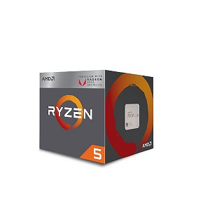 AMD AMD Ryzen 5 2400G with Wraith Stealth cooler YD2400C5FBBOX