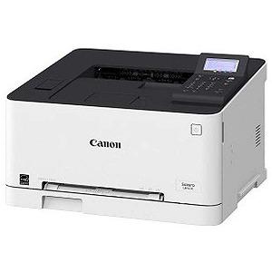 Canon A4カラーレーザープリンター 9600dpi Satera LBP611CS ホワイト
