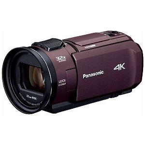 パナソニック SD対応 64GBメモリー内蔵4Kビデオカメラ HC-VX1M ブラウン