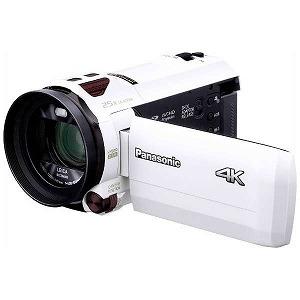 パナソニック SD対応 64GBメモリー内蔵4Kビデオカメラ HC-VX990M ホワイト