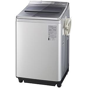 パナソニック 全自動洗濯機(洗濯12.0kg) NA-FA120V1-S シルバー(標準設置無料)