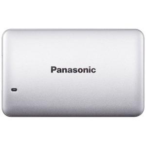 パナソニック ポータブルSSD 256GB[USB 3.1・Win] RP-SUD256P3 シルバー(送料無料)