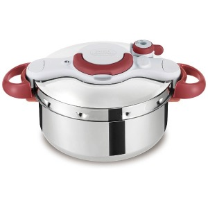 ティファール ≪IH対応≫ 圧力鍋 「クリプソ ミニット イージー」(4.5L) P4620669 レッド