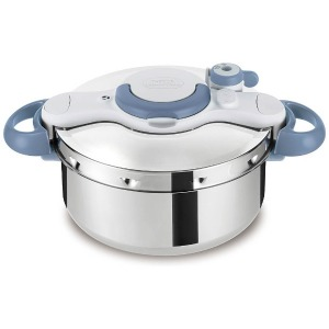 ティファール ≪IH対応≫ 圧力鍋 「クリプソ ミニット イージー」(4.5L) P4620670 ブルー
