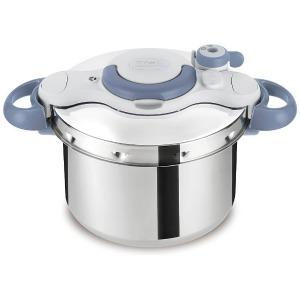 ティファール ≪IH対応≫ 圧力鍋 「クリプソ ミニット イージー」(6L) P4620770 ブルー