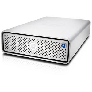 HGST 外付HDD 8TB[Thunderbolt 3/USB-C 3.1・Mac/Win] G-DRIVE 0G05376 シルバー