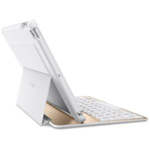 ベルキン 9.7インチiPad対応 キーボード UltimateLiteKeyboard(ホワイト/ゴールド) F5L904QEWGW