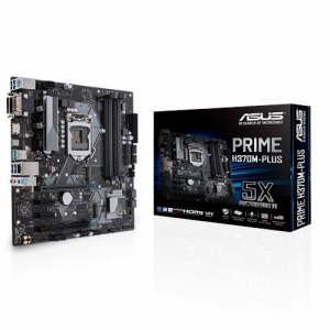 ASUS マザーボード Intel H370チップセット搭載 LGA1151対応 PRIME H370M-PLUS [MicroATX]