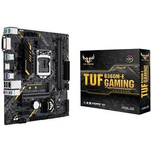 ASUS ゲーミングマザーボード Intel B360チップセット搭載 LGA1151対応 TUF B360M-E GAMING [MicroATX]