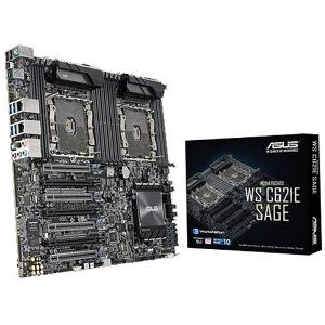 ASUS マザーボード Xeonスケーラブルプロセッサ対応 C621チップセット搭載 EEB WS C621E SAGE