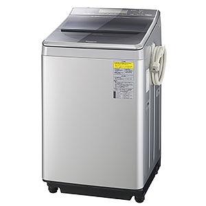 パナソニック タテ型洗濯乾燥機 (洗濯12.0kg/乾燥6.0kg) NA-FW120V1-S シルバー 【洗濯槽自動お掃除・ヒーター乾燥機能付】(標準設置無料)