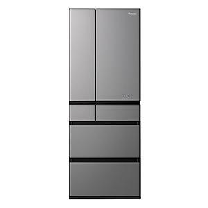 パナソニック 6ドア冷蔵庫(550L・フレンチドア) NR-F554WPX-H ミスティダークグレー(標準設置無料)