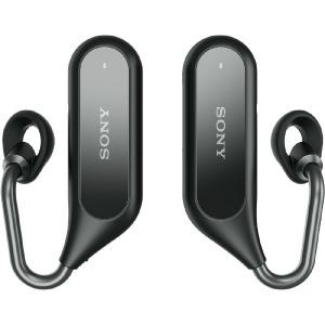 ソニー ブルートゥースイヤホン 完全ワイヤレス 耳かけ型 XEA20JP B[左右分離タイプ /Bluetooth](送料無料)