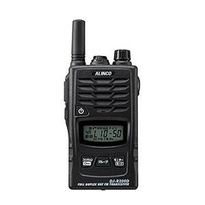 アルインコ 超多機能特定小電力トランシーバー DJ-R200DS ブラック