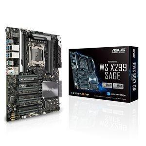 ASUS マザーボード X299チップセット搭載 CEBフォームファクタ WS X299 SAGE