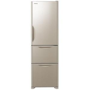 日立 3ドア冷蔵庫(315L・右開き) R-S32JV クリスタルシャンパン(標準設置無料)