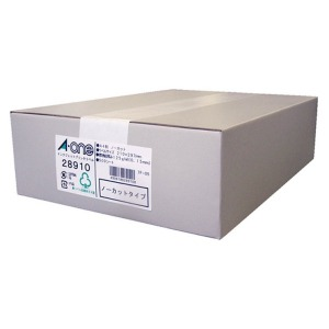 エーワン ラベルシール[インクジェット] (A4サイズ・500枚) 28910