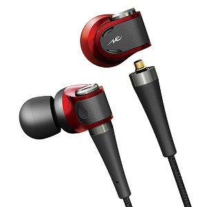RADIUS NeXTRAシリーズ ハイレゾ対応 Inner ear headphones HP-NX100R [約120cm /φ3.5mm ミニプラグ]