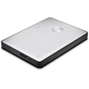 HGST ポータブルHDD 2TB[USB 3.0]G-DRIVE mobile 0G06072 シルバー