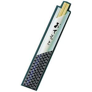 遠藤商事 割箸袋入 小紋 アスペン元禄 20.5cm (1ケース100膳×40入) XHSA2(送料無料)