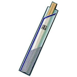 割箸袋入 ピース紺 白樺元禄 20.5cm (1ケース100膳×40入) XHS99(送料無料)