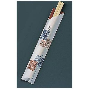 割箸袋入 元禄吹き寄せ アスペン元禄 (1ケース100膳×40入) XHSA3(送料無料)
