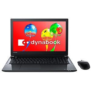 東芝 15.6型ノートPC dynabook T75/GB PT75GBP-BEA2 プレシャスブラック