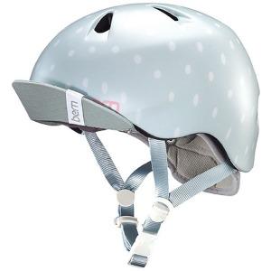 アピロス 子供用ヘルメット NINA ALL SEASON BE-VJGSSPV-12 (Satin Seaglass Polka Dot/ S-Mサイズ:51.5~54.5cm) (送料無料)