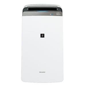 シャープ コンプレッサー式衣類乾燥除湿機「プラズマクラスター」 CV-H180-W ホワイト系(送料無料)