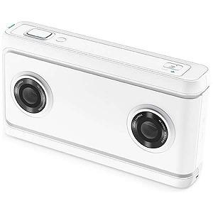 LENOVO VR180対応4Kカメラ Lenovo Mirage Camera with Daydream ZA3A0011JP ムーンライトホワイト(送料無料)