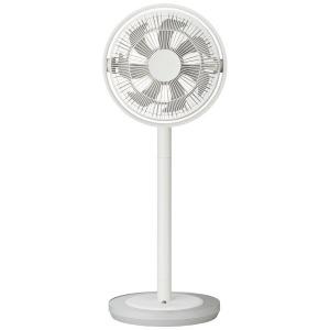 ドウシシャ 「DCモーター搭載」 リモコン付リビング扇風機 「Kamomefan」(7枚羽根) TLKF-1281D-WH ホワイト