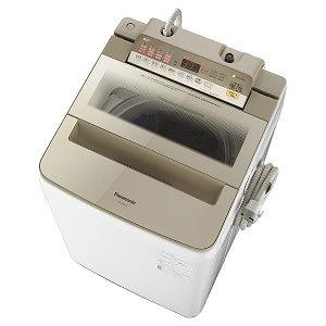 パナソニック 全自動洗濯機 (洗濯8.0kg) NA-FA80H6-N シャンパン(標準設置無料)