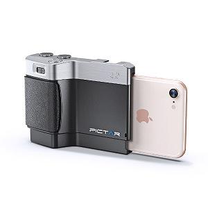 iPhone用カメラグリップ miggo Pictar One Mark II MWPTONEBS32  MWPT-ONEBS32 ブラック(送料無料)