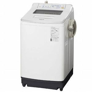 パナソニック 全自動洗濯機(洗濯8.0kg) NA-JFA805-W クリスタルホワイト(標準設置無料)