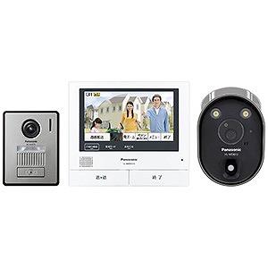 パナソニック ワイヤレスカメラ付テレビドアホン VL-SVH705KLC(送料無料)