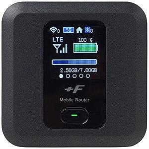 富士ソフト 「SIMフリー microSIMx1」 モバイルルータ LTE/Wi-Fi FS030WMB1 ブラック