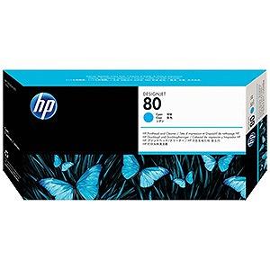 HP 80 「純正」HP 80 (シアン) プリントヘッド/クリーナー HP (シアン) C4821A(送料無料), 守山市:547b57c5 --- rakuten-apps.jp