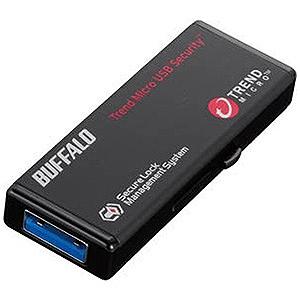バッファロー USBメモリー[64GB/USB3.0/スライド式]ウイルスチェックモデル RUF3-HS64GTV5