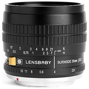 レンズベビー 交換レンズ レンズベビー Burnside 35(バーンサイド35)「ペンタックスKマウント」 BURNSIDE35(ペン