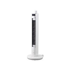 小泉成器 「DCモーター搭載」充電式リモコン付タワー型扇風機 KTF-0581/W(送料無料)