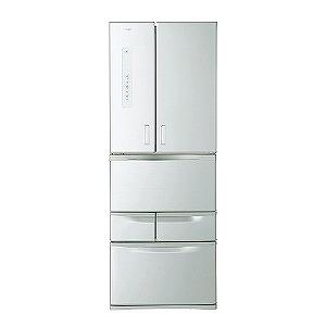 東芝 6ドア冷蔵庫 (501L) GR-M50FX-S シルバー(標準設置無料)