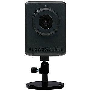 プラネックス スマホ対応ネットワークカメラ 防雨型 ムーンライトタイプ マイク内蔵 スピーカー端子搭載 CS-QR300