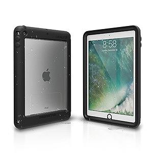 トリニティ iPad 9.7インチ用 カタリスト 完全防水ケース CT-WPIPDP17-BK ブラック
