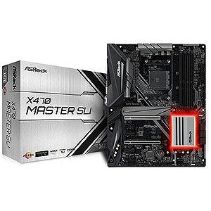 マザーボード AMD X470チップセット搭載 X470 MASTER SLI [ATX] X470MASTERSLI