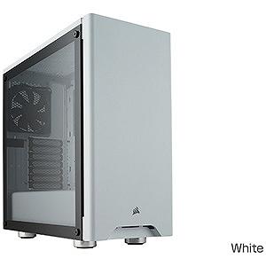 コルセア PCケース Carbide 275R Tempered Glass CC-9011133-WW ホワイト(送料無料)