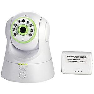 NEC スマホ/タブレット対応」ネットワークカメラ[100万画素] Aterm HC100RC PA-HC100RC/AP