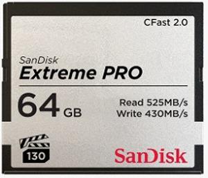 サンディスク 64GB CFast2.0 カード SanDisk Extreme PRO SDCFSP-064G-J46D