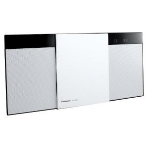 パナソニック 「ワイドFM対応」Bluetooth対応 コンパクトステレオシステム SC-HC300-W ホワイト(送料無料)