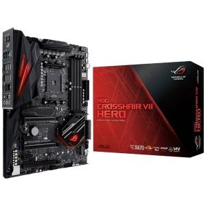 ASUS ゲーミングマザーボード  AMD X470 ROG CROSSHAIR VII HERO [ATX] ROGCROSSHAIRVIIHERO
