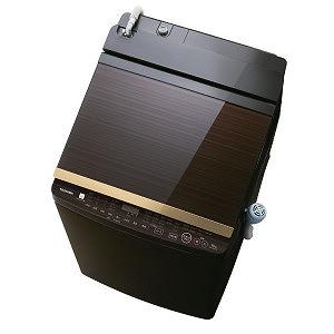 東芝 洗濯乾燥機 (洗濯10.0kg/乾燥5.0kg) AW-10SV7-T グレインブラウン(標準設置無料)